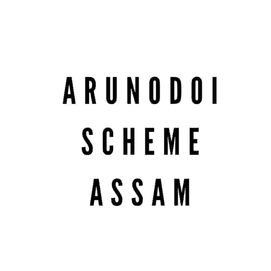 Arunodoi Scheme Assam, Arunudoi Scheme