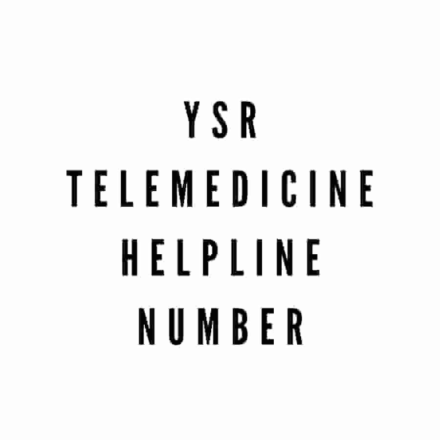 YSR Telemedicine Toll Free Number